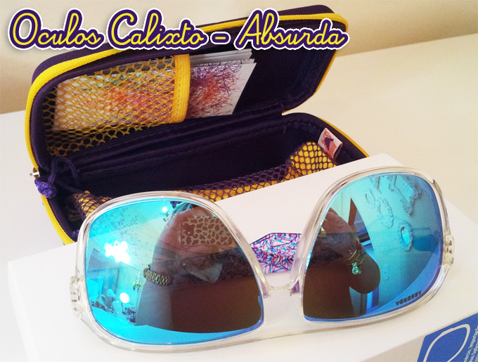 Óculos Calixto - Absurda - Andreza Goulart! ad5fc61db1