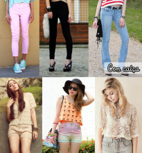 cropped looks