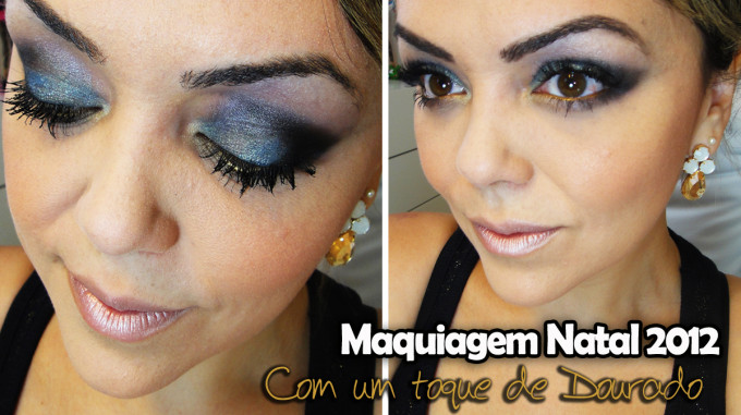 Maquiagem Natal 2012