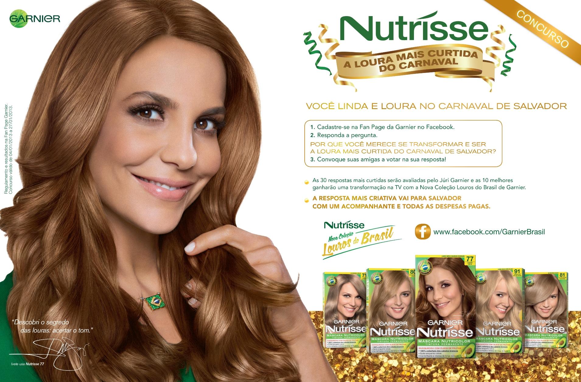 Garnier Nutrisse Nourishing Color Cream In Rich Auburn Blonde  Dark Brown Hairs
