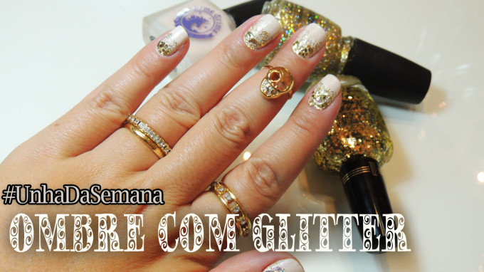 Ombre com Glitter