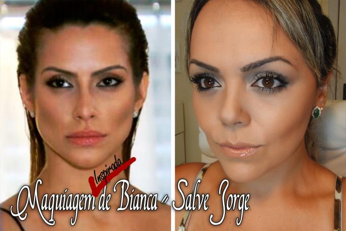 Maquiagem Bianca