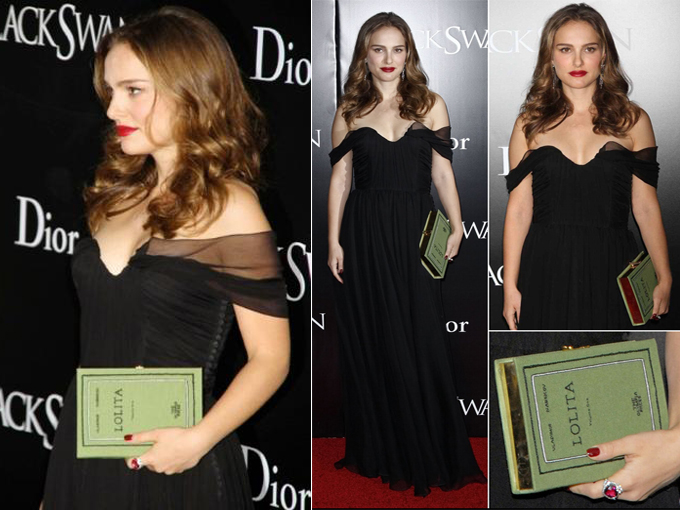 Natalie Portman Book Clutch