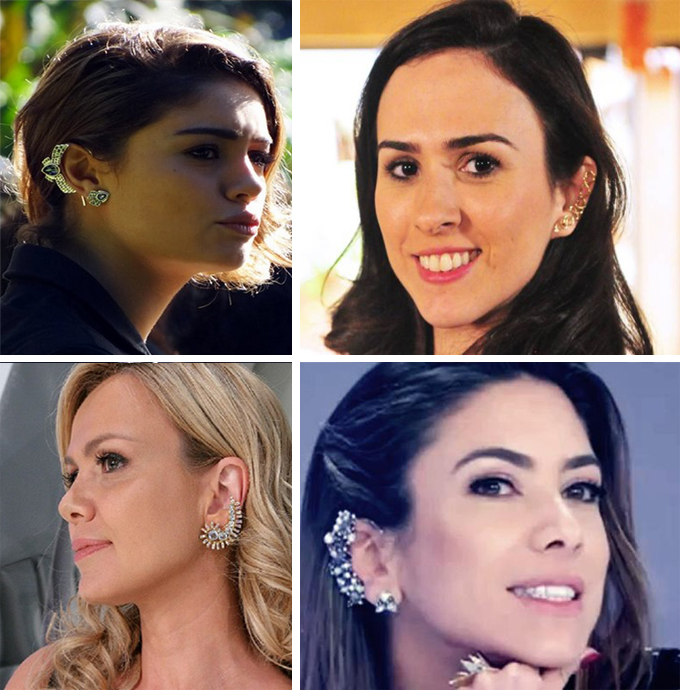 Ear Cuffs Celebridades