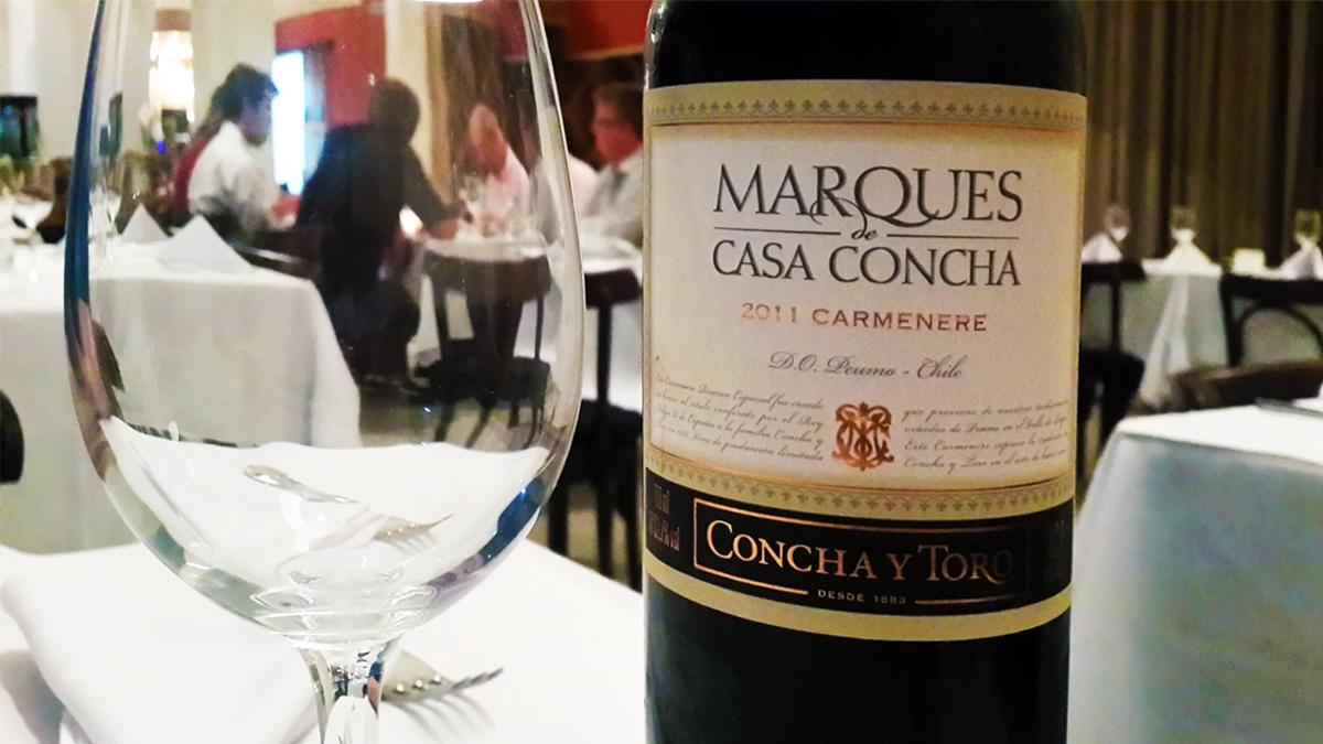 Kết quả hình ảnh cho MARQUES CASA CONCHA CARMENERE