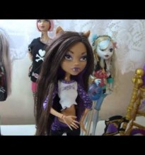 Clawdeen Wolf e seu Quarto Uivante – Monster High