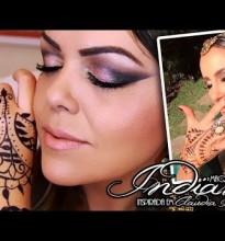Maquiagem INDIANA inspirada em Claudia Leitte #Tutorial