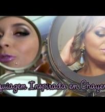 Maquiagem Inspirada em Chayene #Tutorial #CheiasDeCharme