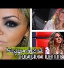 Maquiagem Inspirada em Cláudia Leitte #TheVoiceBrasil