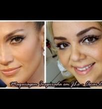 Maquiagem Inspirada em JLo – Oscar 2012