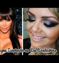 Maquiagem Inspirada em Kim Kardashian