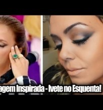 Maquiagem Inspirada Ivete Sangalo no Esquenta! #Tutorial