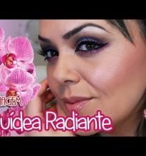 Maquiagem Orquídea Radiante – Feliz 2014 #Tutorial #MaquiagemReveillon