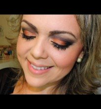 Makeup Tons de Metais + Look do Dia #Tutorial