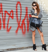 tommy-ton-street-style-woman-calling-grey-coat