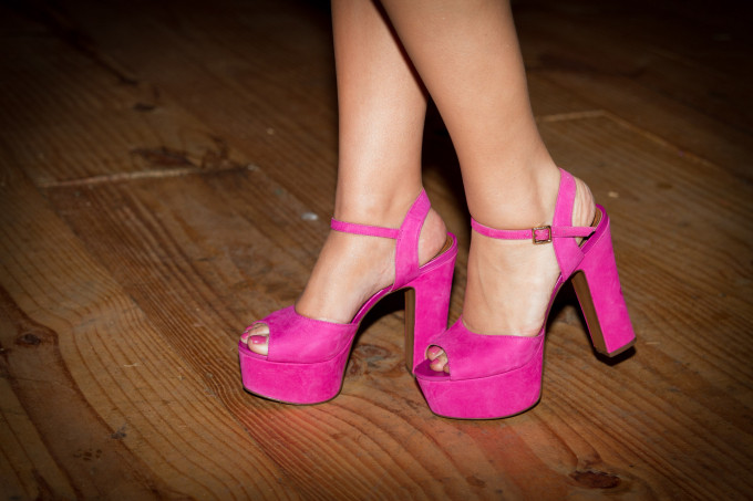 Sandália Pink
