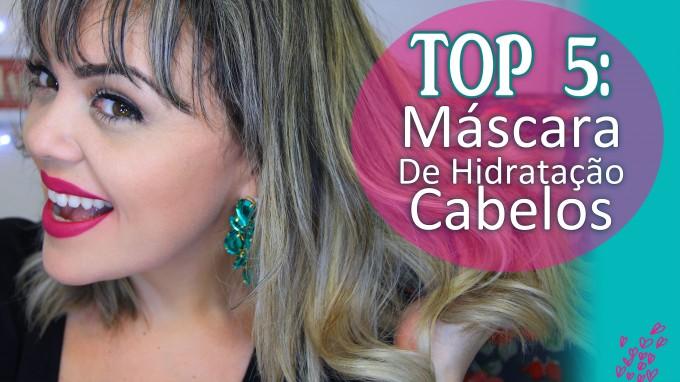 TOP 5 Máscara de Hidratação Cabelo