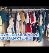 Futuro Quartinho e o Começo do Enxoval do Leonardo