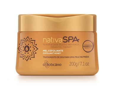 Nativa SPA Óleos Indianos Mel esfoliante