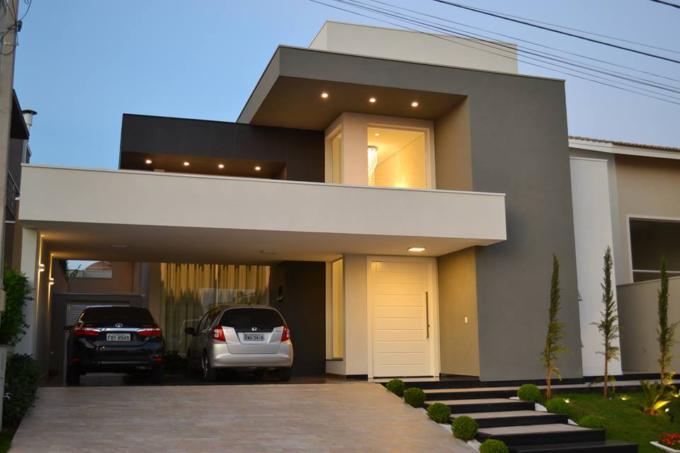 Fachada de casas veja algumas dicas andreza goulart for Ideas fachadas de casas pequenas