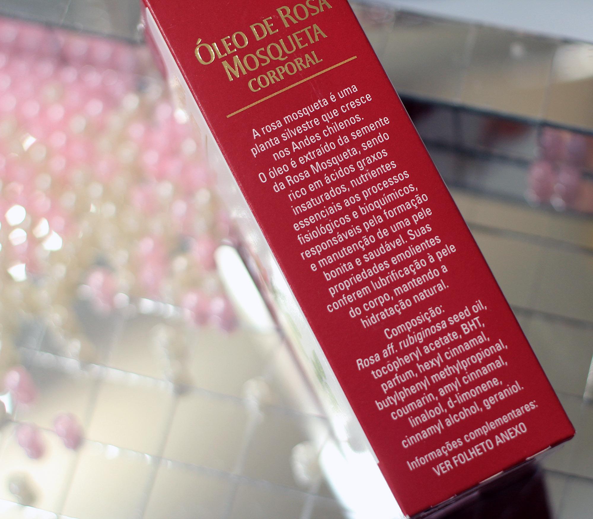 oleo de rosa mosqueta para o rosto